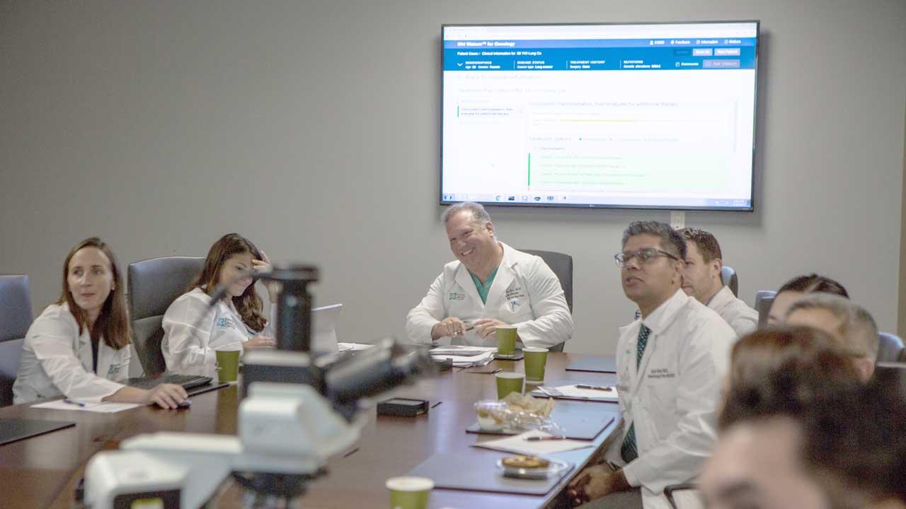 Watson gør det hurtigere at finde egnede deltagere til kliniske kræftstudier