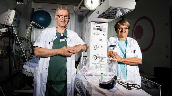 Peter Damm og Elisabeth Mathiesen