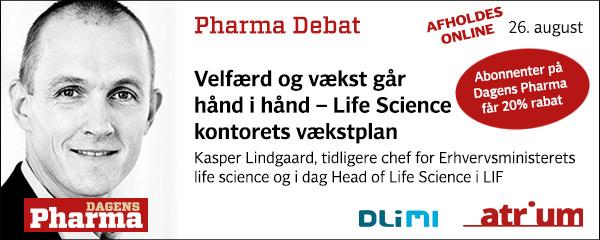 pharma debat august 2020 kasper lindgaard