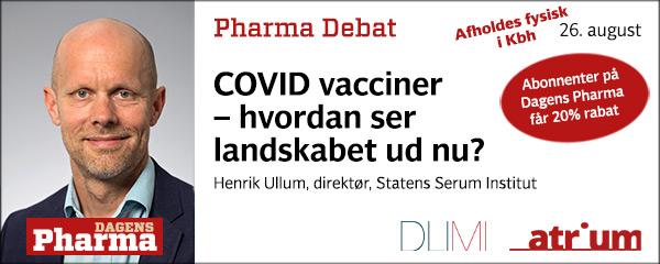 pharma debat august 2021 henrik ullum
