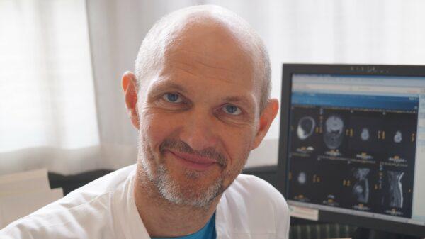 Peter Born, overlæge på BørneUngeklinikken på RigshospitaletBørne