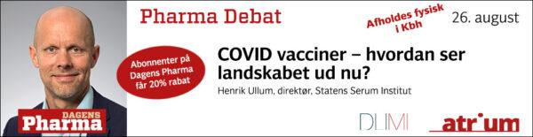 pharma debat med henrik ullum